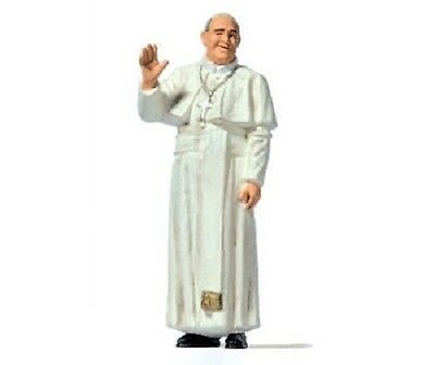 Preiser HO scale  Pope Francis painted figure 28208