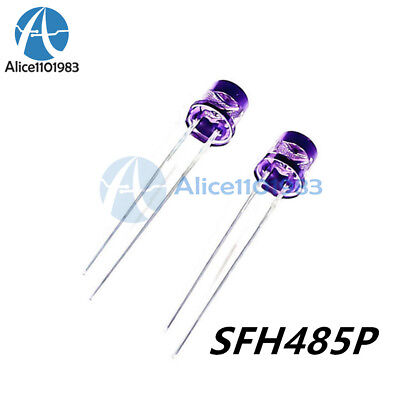 10PCS SFH485P EMITTER GAALAS 880NM 5MM RADIAL New