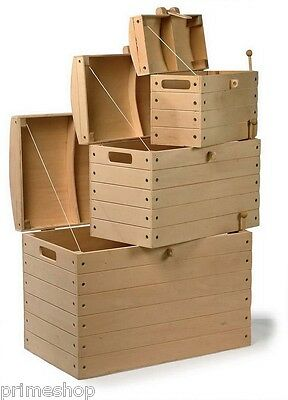 Pirate Chests Natural 3 Different Sizes New