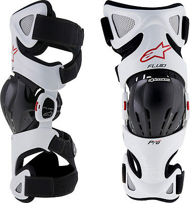 Alpinestars Fluid Pro Knee Brace Set - Motocross Dirtbike Offroad ATV
