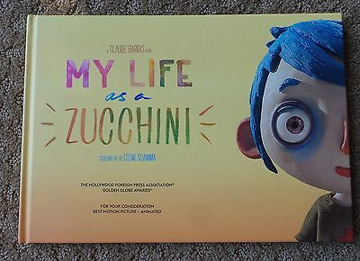 MY LIFE AS A ZUCCHINI  BOOK PRESS KIT FYC FOR YOUR CONSIDERATION press kit