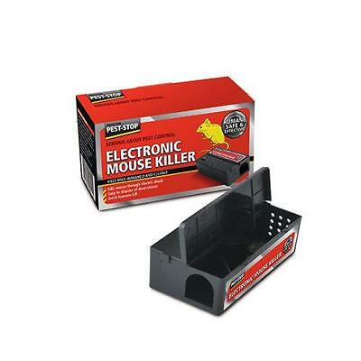 Electronic Mouse Trap Killer Humane and Clean Pest Stop PSEMK