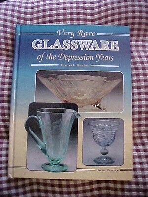 1995 Book VERY RARE GLASSWARE OF THE DEPRESSION YEARS, 4th or FOURTH SERIES