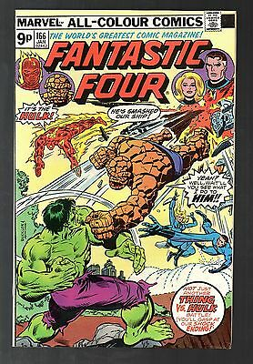Fantastic Four Vol 1 No 166 Jan 1976 (VFN+)Marvel Comics, Bronze Age (1970-1979)