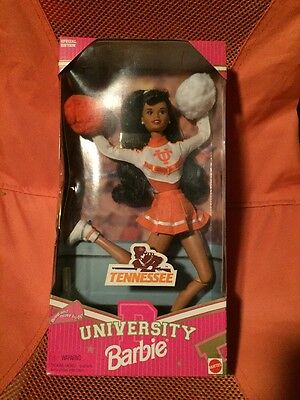 University Barbie Tennessee Volunteers Cheerleader Vols Special Edition 1997