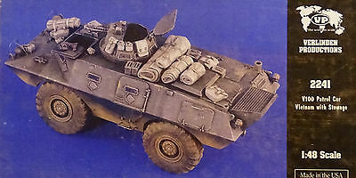 VERLINDEN PRODUCTIONS #2241 V100 Patrol Car w/Stowage in Vietnam in 1:48