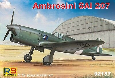 RS MODELS 92157 Ambrosini SAI 207 in 1:72