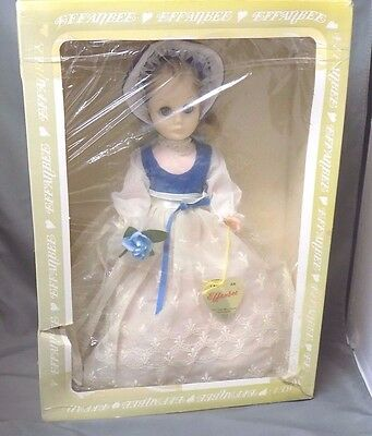 Vintage Effanbee Doll, Complete in Box with Original Clothes & Tag, 1511 Blonde