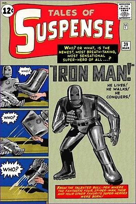 Tales Of Suspense #39~Silver Age Comic~Uk~1St Iron Man~Origin~Sinister Tales