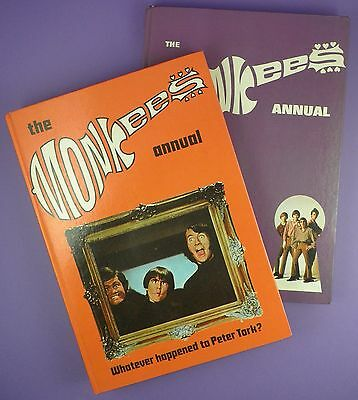 The Monkees Annuals 1967 & 1968 in Very Good Condition