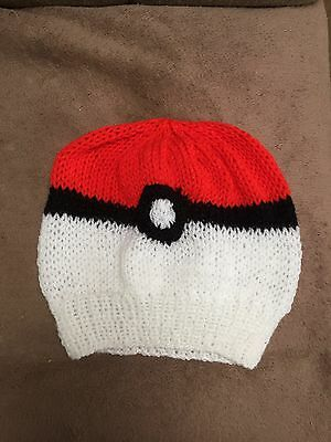 HAND KNITTED Pokemon  Beanie Hat