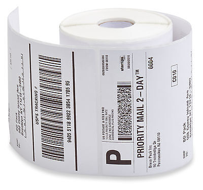 40 Rolls 250 Each 4x6 Direct Thermal Labels Zebra 2844 Eltron Zp450 BP
