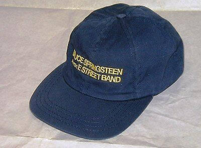 Bruce Springsteen Working On a Dream 2009 Tour Blue Baseball Cap Hat