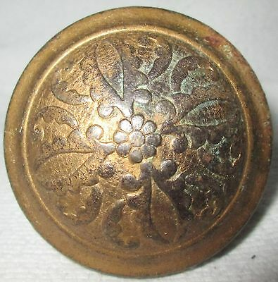 Antique Vintage Victorian Ornate Door Knob