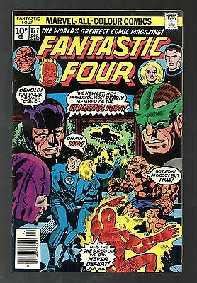Fantastic Four Vol 1 No 177 Dec 1976 (VFN+) Marvel, Bronze Age (1970 - 1979)
