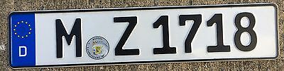 🐦 🐦 AUTHENTIC GERMANY 2010's BAYERN-FREISTAAT LICENSE PLATE.