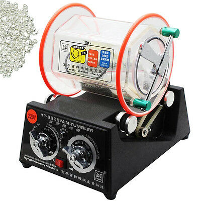 Rotationspolierer Rotary Jewelry polisher Finisher barrel rotary drum Tumbler f