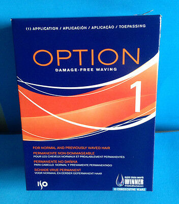 ISO Option 1 Damage-Free Waving For Normal & Previously Waved Hair 1 Application