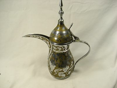 Vintage Middle Eastern Dallah Pot, Turkish Coffee Pot