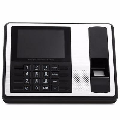 "4.3"" TFT Fingerprint Time Attendance Employee Digital Electronic Reader Machine"