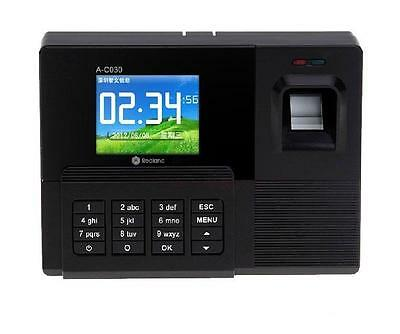 "Realand A9 2.8"" TFT LCD Screen Fingerprint Attendance Machine Checking Recorder"
