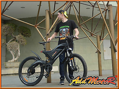 "Addmotor 26"" Mountain Electric Bicycles Frok Suspension & Spring Shock Absorber"