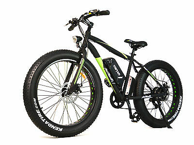 "Addmotor 26"" Fat Tire Electric Bicycle For Beach Snow Bike 48V 500W Bafang Motor"