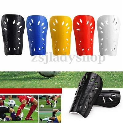 1 Pair Mens Football Soccer Shin Pads Basketball Legs Guards Protective Gear