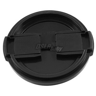 10PCS Universal 55mm Snap on Camera Front Lens Cap 55 Protector for DSLR Filter