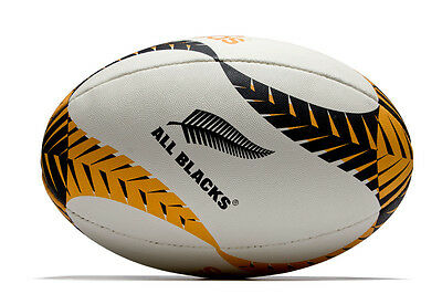 adidas New Zealand All Blacks 2016 Graphic Rugby Ball
