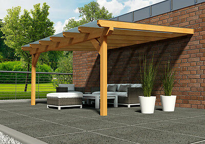 terrassen berdachung 700x450 cm terrassendach pergola berdachung bausatz weiss eur. Black Bedroom Furniture Sets. Home Design Ideas