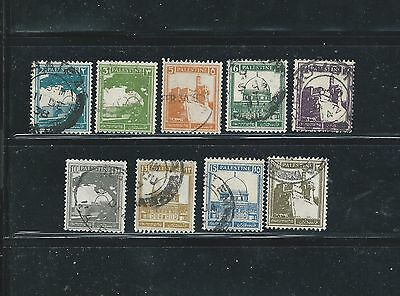 Palestine Stamps Used Lot Of 9 Stamps