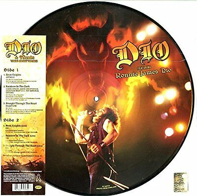 """DIO & FRIENDS Stand Up And Shout 12"""" Vinyl Picture Disc NEW Black Friday 2014"""