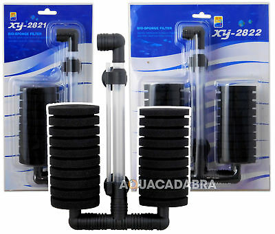 Aquacadabra Bio Foam Sponge Filters In-Aquarium Breeding Small Fry Fish Tank