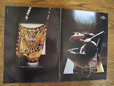 Vintage 1997,hermes Fashion Print Ads Clippings