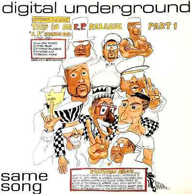 """DIGITAL UNDERGROUND - Same Song (This Is An EP Release Part 1) (12"""") (VG/VG-)"""