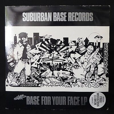 SUB BASE For Your Face SUBURBAN BASE RECORDS UK Original 2LP & 12""