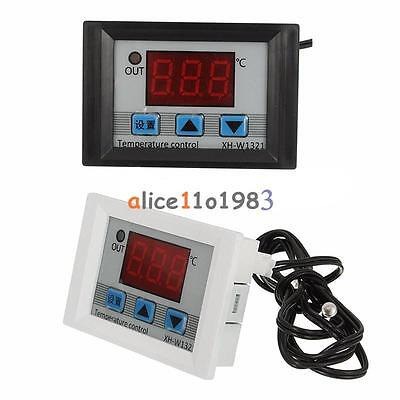 HOT DC12V Digital LED Temperature Controller 10A Thermostat Control Switch Probe