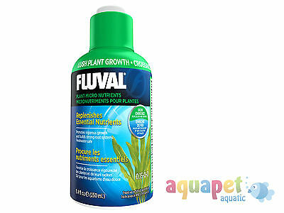 Fluval Plant Micro Nutrients 250ml Aquarium Plant Gro