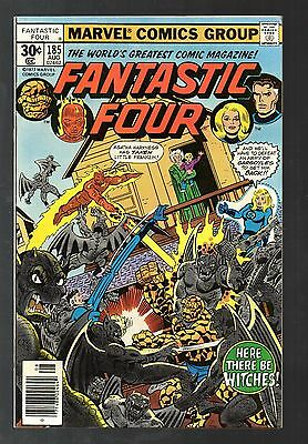 Fantastic Four Vol 1 No 185 Aug 1977 (VFN+) Cents Copy, Bronze Age (1970-1979)