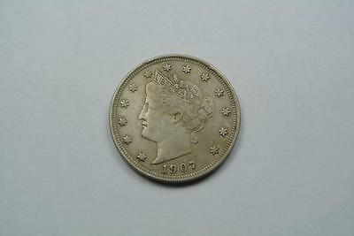 1907 Liberty V Nickel, A.XF Condition - C1522