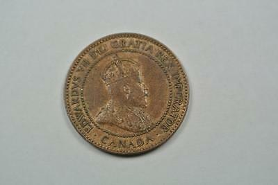 1907-H Canada One Cent, CH AU Condition - C1560
