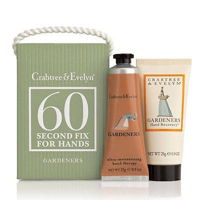 Crabtree & Evelyn 60 Second Fix Kit For Hands - Gardeners Mini