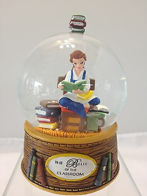The Belle of the Classroom Beauty and the Beast Miniature Snow Globe  - Disney