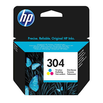 Genuine HP 304 Colour Ink Cartridge For Deskjet 3270 3370 Printer