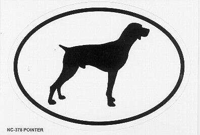 Pointer Oval Sticker