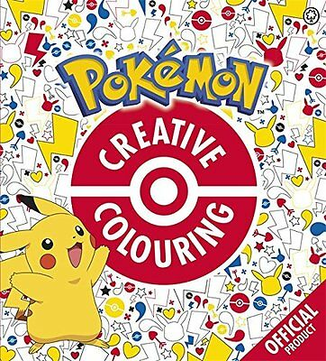 Official Pokemon Creative Colouring - Book by Pokemon (Paperback, 2016)