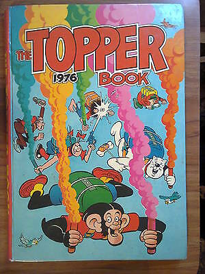 TheTopper Book 1976, kids' annual. Unclipped