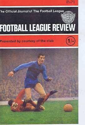 WEST HAM / LIVERPOOL / SWANSEA TOWN TEAM Football League Review Vol. 2 No. 32