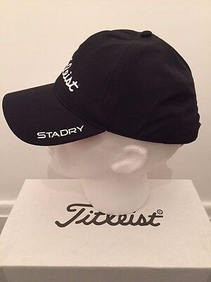TITLEIST 2016 STADRY 100% Waterproof CAP Colour BLACK ONE SIZE FITS ALL NEW